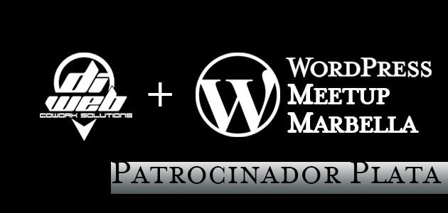 Diweb Cowork Patrocinador Oficial Wordpress Meetup Marbella